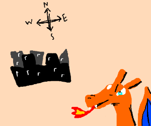 Charizard east a city