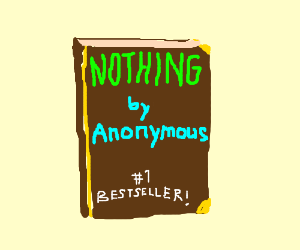 Nothing has been written by Anonymous