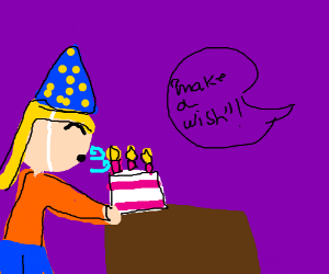 Make a wish, it's your birthday!