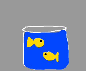 Fish in the jar