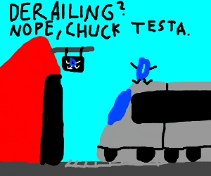 Derailing Time at Drawception station