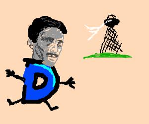 Drawception tesla