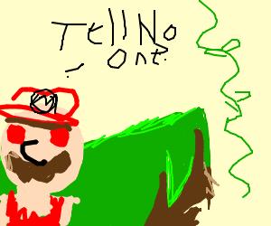 Mario secret vines
