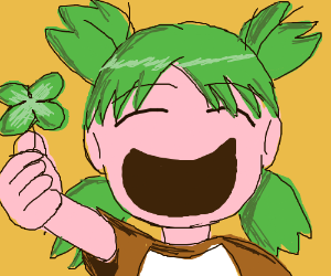 4 leaf clover anime girl