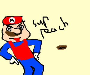 Horny Mario finally finds princess peach