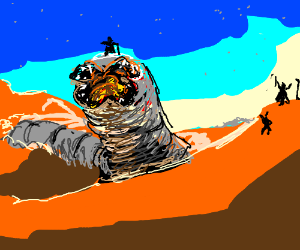 The worms from Dune