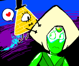 Bill Cypher falls in love with Peridot