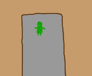Door to moss-woman public restroom