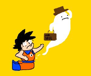Goku has no soul