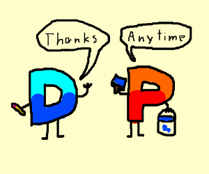 Drawception D just refreshed his paint job