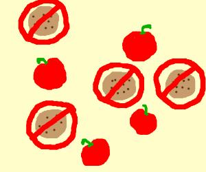 Apples and anticookies