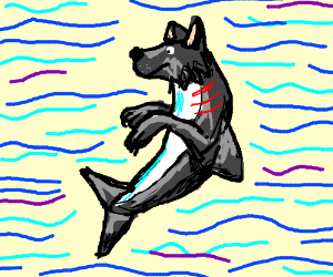 Wolf/shark hybrid of awesome