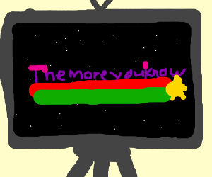 The more you know star is on tv