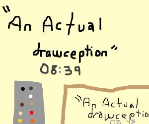 An actual drawception