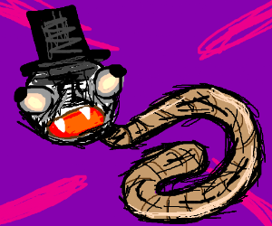 Frosty and worm had a child thanks Desolation
