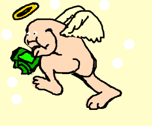 No money babies, only angel babies (WTF?)