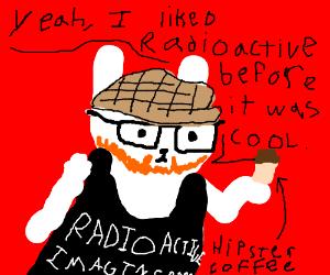 Radioactive bunny