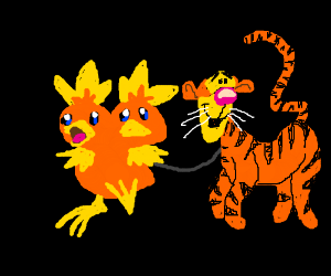 Tigger lead on lease by 2headed torchic