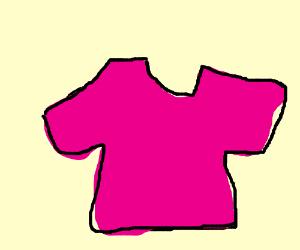 A knockoff pink shirt