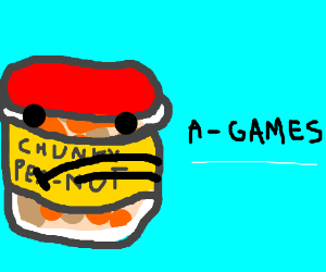 PEANUT BUTTER JEFF WITH A GAMES