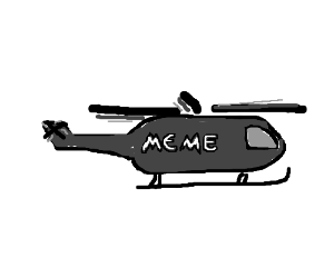 Apache helicopter meme