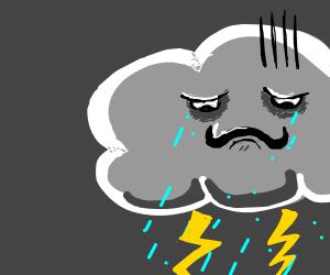 Large storm cloud needs a hug