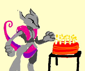 Its Almost Mewtwo365 S Birthday Jan 1st Drawception