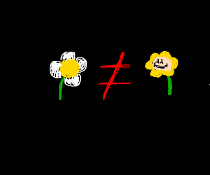 Flower has become synonymous with Flowey