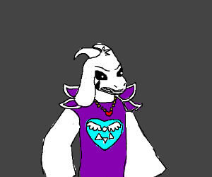 Angry Asriel