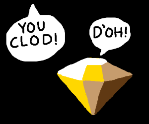 Yellow Diamond gets called a clod