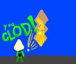 yellow diamond is a clod