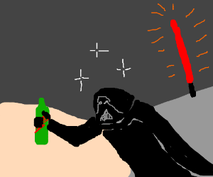 Darth vader has the most sat. Nights ever