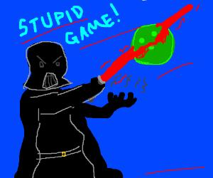 Darth Vader goes bowling!