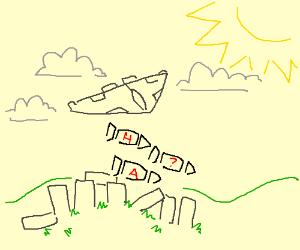 The bombing of Stonehenge