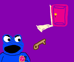 Cookie Monster actually prefers doughnuts