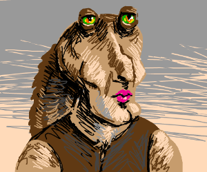 Handsome Jar-Jar Binks