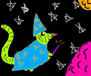 Wizard-Lizard in Space!