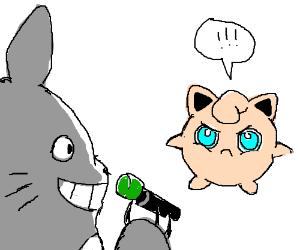 Totoro VS Jigglypuff
