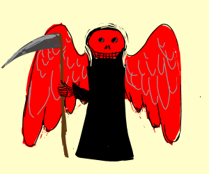 Red angel of death