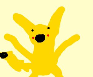 Surprise ! It's a Pikachu !