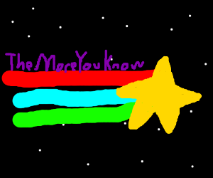quotthe more you knowquot logo drawception