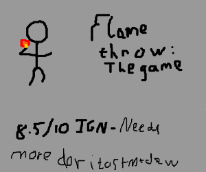 FLAMETHROW: The Game. (8.5/10 -IGN)