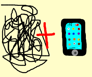 Scribble and a Phone