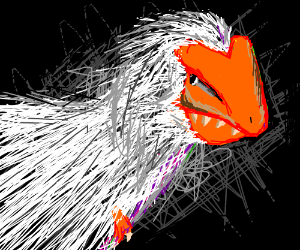 Velociraptor in rhea's clothing