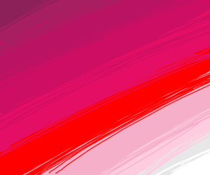 various shades and tints of red