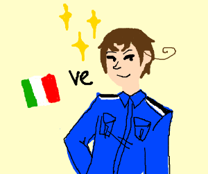 Hetalia (Italy) OuO (nice picture)