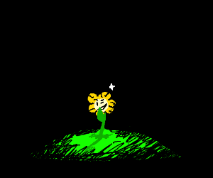 Flowey being seductive