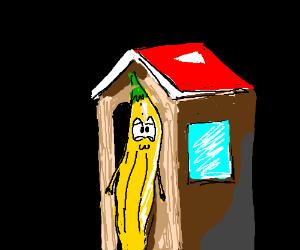 Banana tollbooth