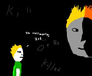 """Human Flowey """"Kill or be Killed"""""""