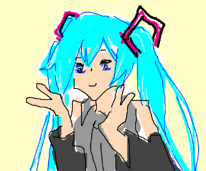 Hatsune Miku in your head